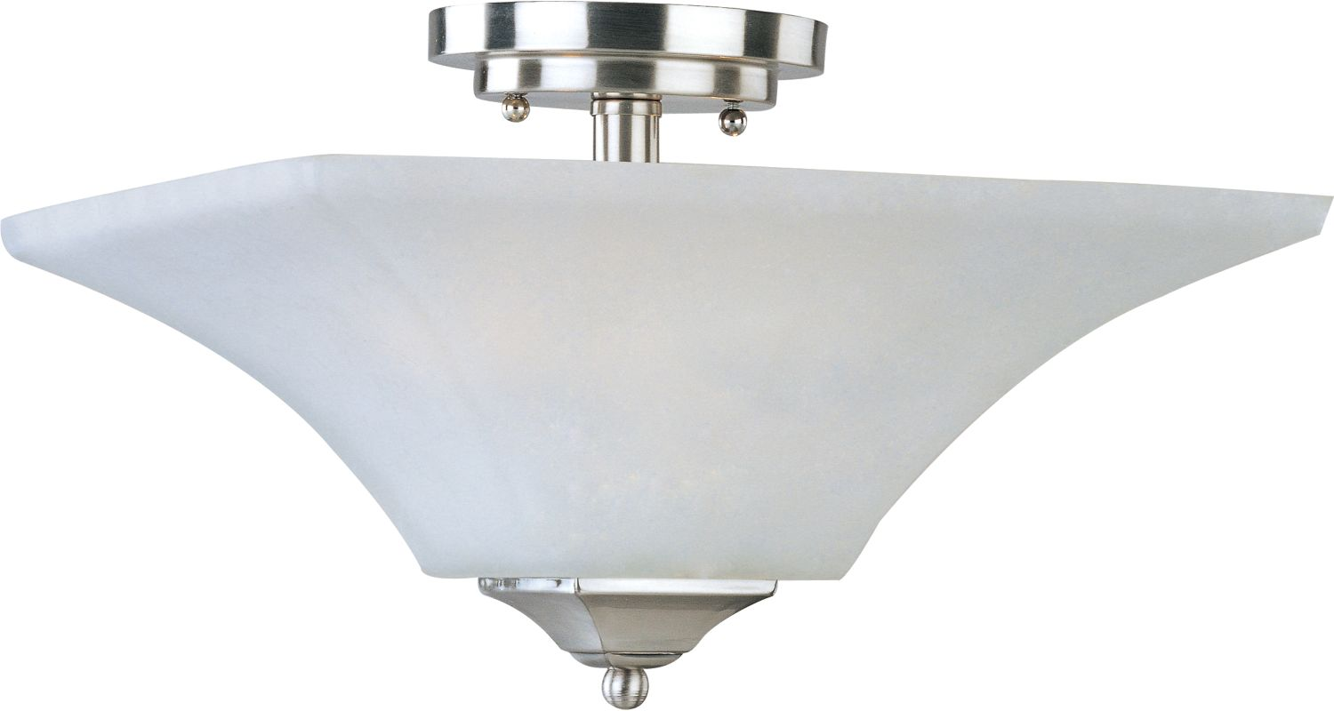 """Maxim 20091 2 Light 13"""" Wide Semi-Flush Ceiling Fixture from the"""