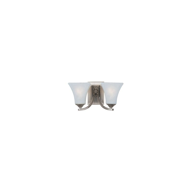 "Maxim 20099 2 Light 7"" Tall Wall Sconce from the Aurora Collection"