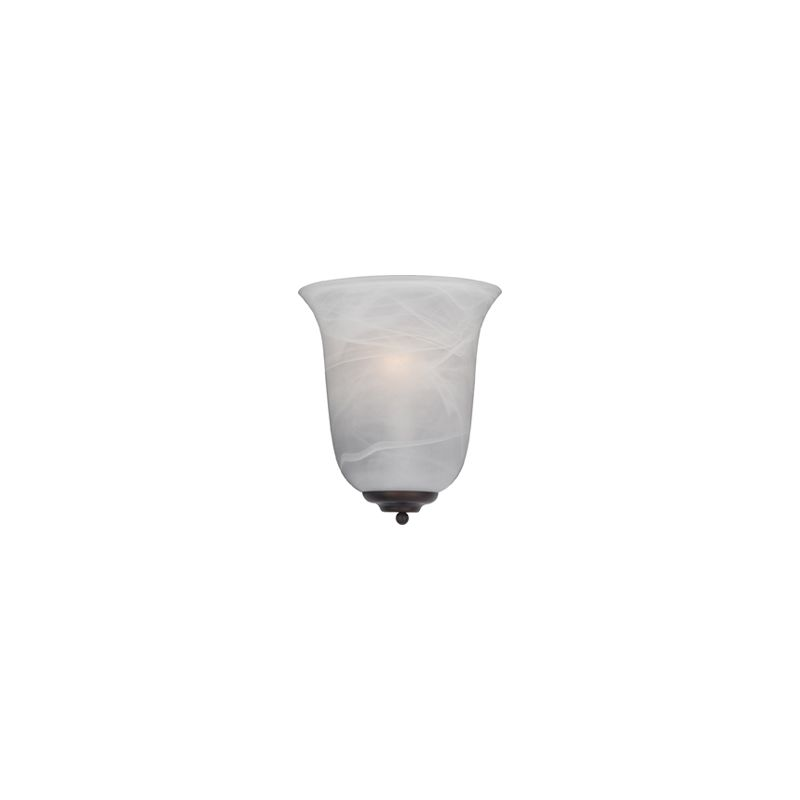 "Maxim 20581 1 Light 11"" Tall Wall Sconce from the Essentials"