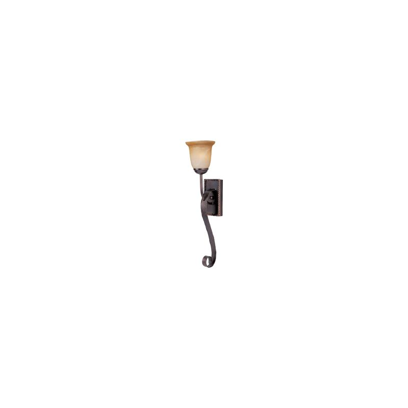 """Maxim 20618 1 Light 25"""" Tall Wall Sconce from the Aspen Collection Oil"""