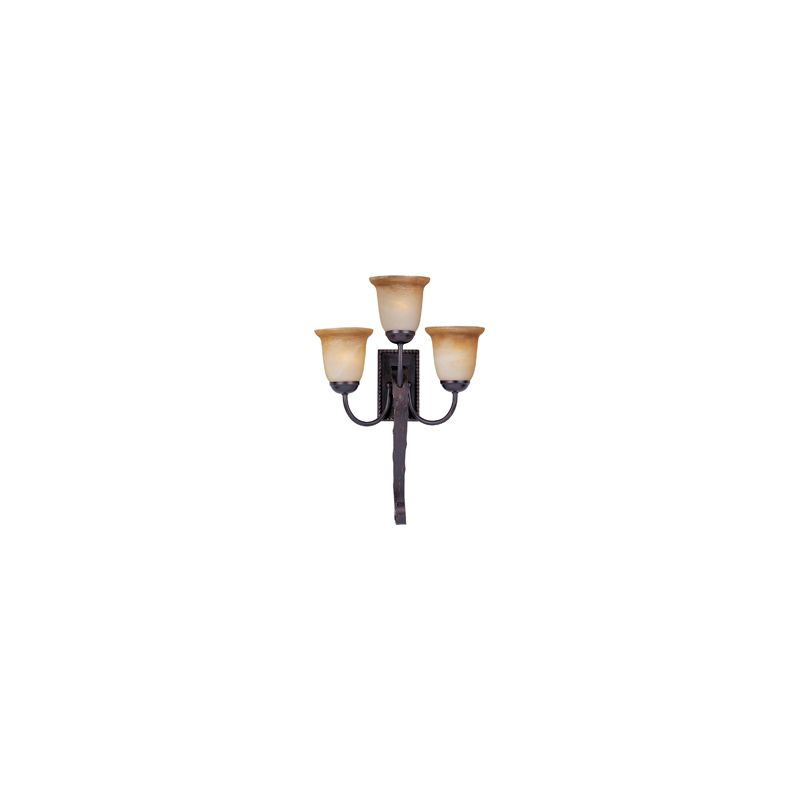 """Maxim 20619 3 Light 26"""" Tall Wall Sconce from the Aspen Collection Oil"""