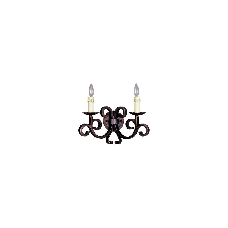 """Maxim 20633 2 Light 11"""" Tall Wall Sconce from the Verona Collection"""