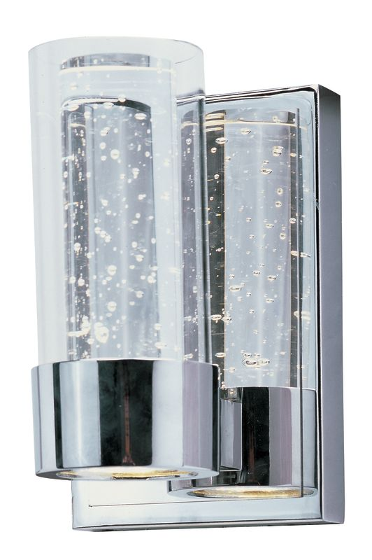 Maxim 20901 LED 7.5&quote Tall Bathroom Sconce From the Sync Collection