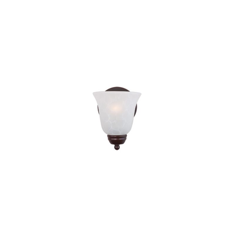 """Maxim 2120 1 Light 8"""" Tall Wall Sconce from the Basix Collection Oil"""