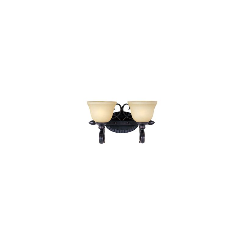 """Maxim 21312 2 Light 9.5"""" Tall Wall Sconce from the Infinity Collection"""