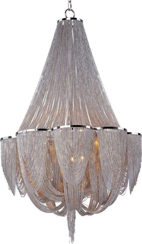 Maxim 21466 Chantilly 12 Light Single-Tier Chandelier Polished Nickel Sale $2140.00 ITEM: bci2629533 ID#:21466NKPN UPC: 783209094086 :