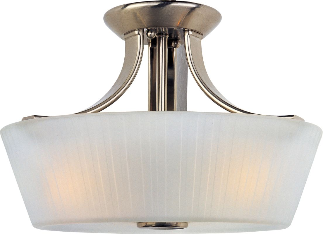 "Maxim 21501 3 Light 13.25"" Wide Semi-Flush Ceiling Fixture from the"