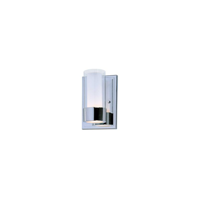"""Maxim 23071 1 Light 7.5"""" Tall Wall Sconce from the Silo Collection"""