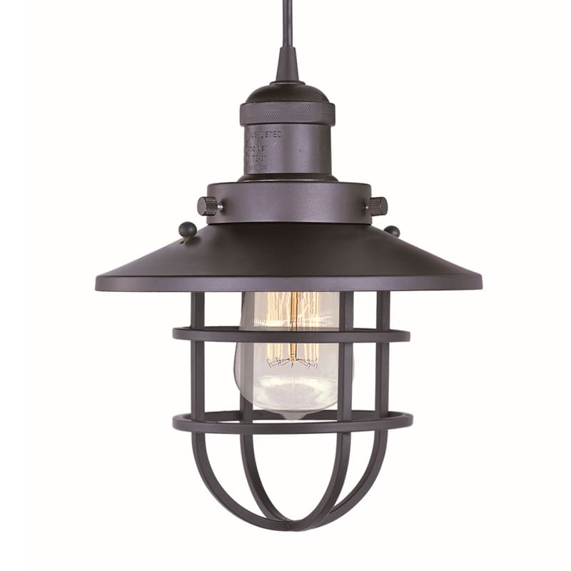 "Maxim 25030/BUI 1 Light 8"" Wide Pendant from the Mini Hi-Bay"