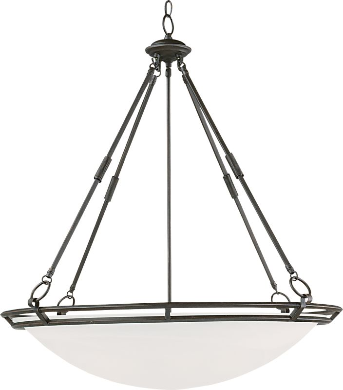"Maxim 2671 6 Light 32"" Wide Pendant from the Stratus Collection Bronze"