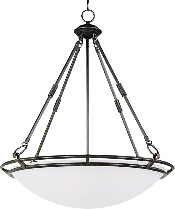 """Maxim 2673 5 Light 24.5"""" Wide Pendant from the Stratus Collection"""