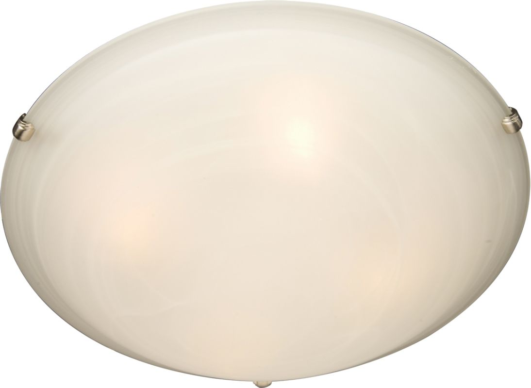 """Maxim 2681 3 Light 16"""" Wide Flush Mount Ceiling Fixture from the"""