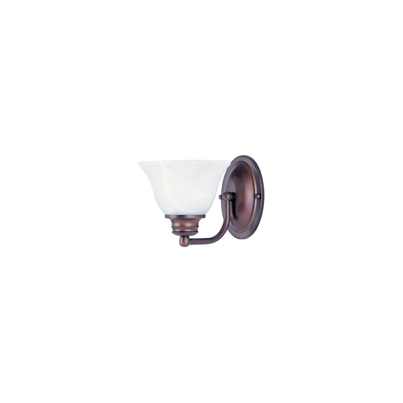 "Maxim 2686 1 Light 6.5"" Tall Wall Sconce from the Malaga Collection"