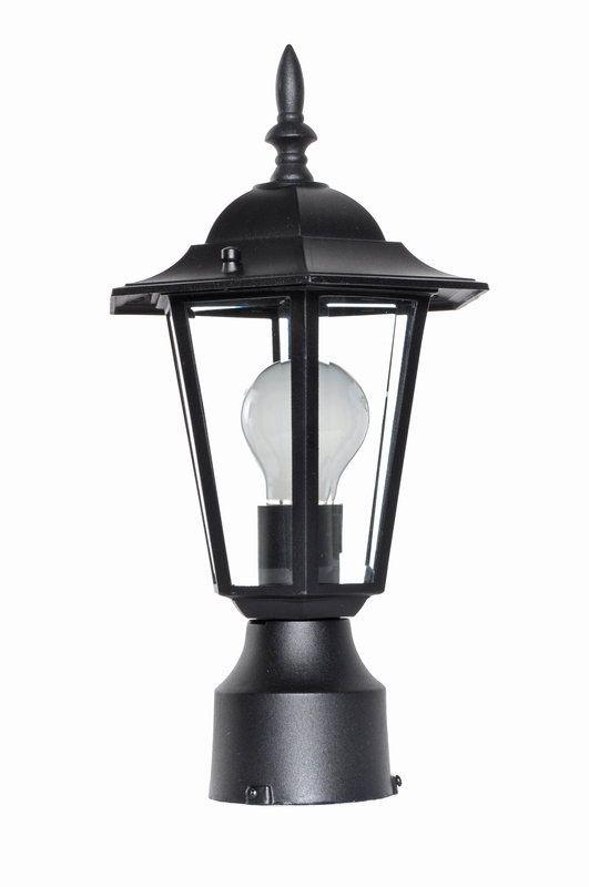 Maxim 3001 Builder Cast 1 Light Outdoor Post Light Black Outdoor