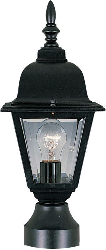 Maxim 3006 Builder Cast 1 Light Outdoor Post Light Black Outdoor