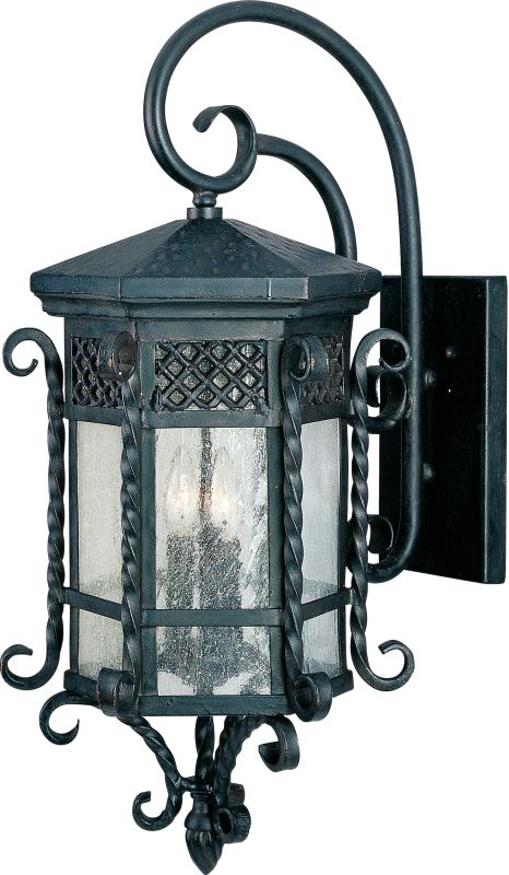 "Maxim 30125 3 Light 28"" Tall Outdoor Wall Sconce from the Scottsdale"