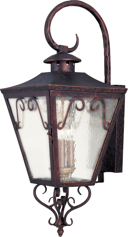 "Maxim 30155 3 Light 28"" Tall Outdoor Wall Sconce from the Cordoba"