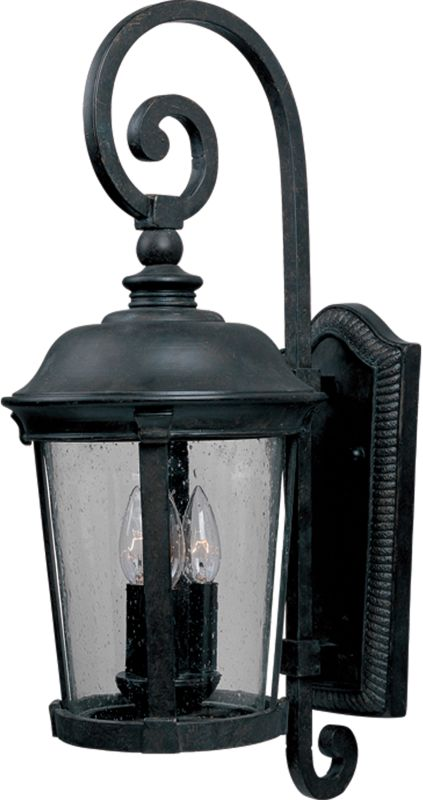 "Maxim 3024 3 Light 24.5"" Tall Outdoor Wall Sconce from the Dover DC"