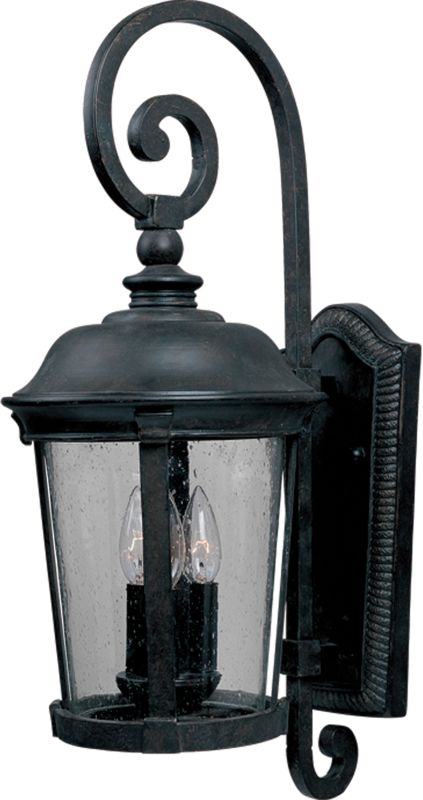 "Maxim 3025 3 Light 31.5"" Tall Outdoor Wall Sconce from the Dover DC"