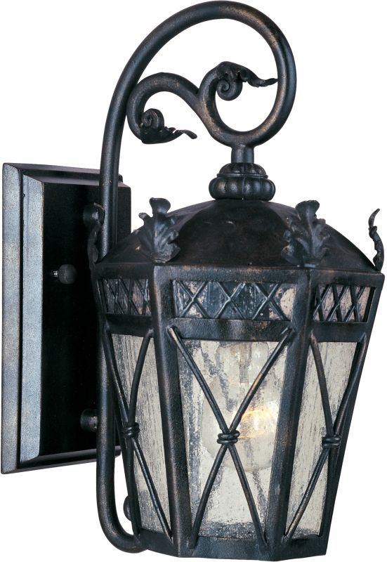 """Maxim 30454 1 Light 14"""" Tall Outdoor Wall Sconce from the Canterbury"""