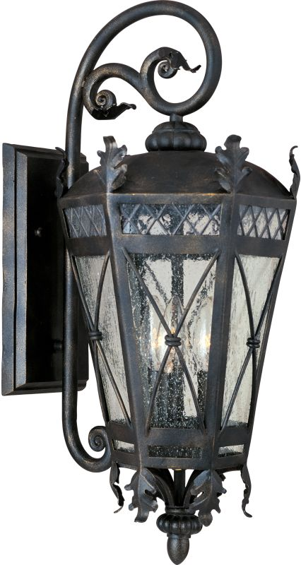 """Maxim 30455 3 Light 22.5"""" Tall Outdoor Wall Sconce from the Canterbury"""