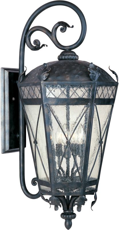 """Maxim 30456 3 Light 27.5"""" Tall Outdoor Wall Sconce from the Canterbury"""