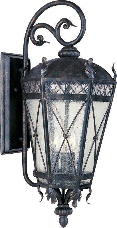 """Maxim 30457 5 Light 33"""" Tall Outdoor Wall Sconce from the Canterbury"""