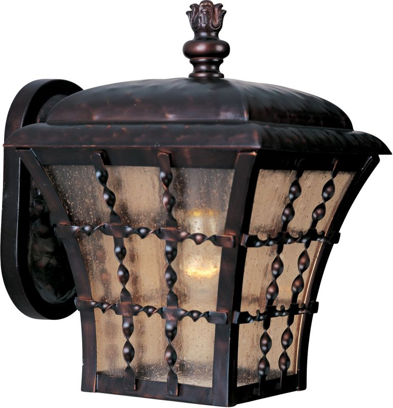 """Maxim 30492 1 Light 10.5"""" Tall Outdoor Wall Sconce from the Orleans"""