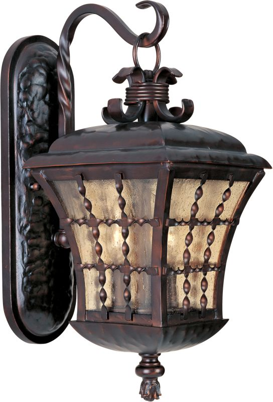 """Maxim 30493 3 Light 18"""" Tall Outdoor Wall Sconce from the Orleans"""