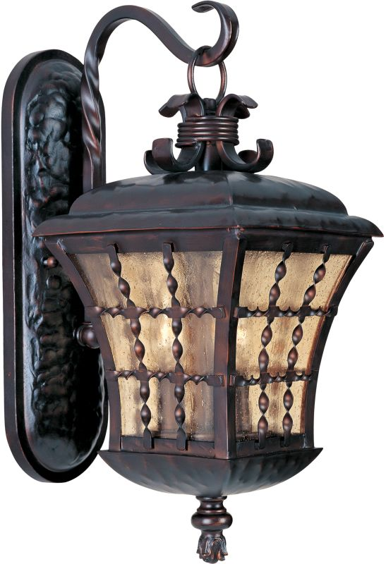 "Maxim 30495 3 Light 21"" Tall Outdoor Wall Sconce from the Orleans"