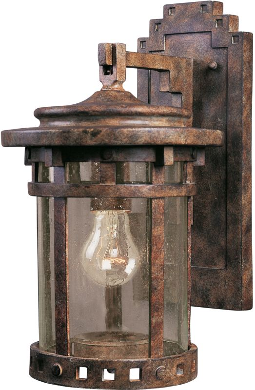 "Maxim 3131 1 Light 10.25"" Tall Outdoor Wall Sconce from the Santa"