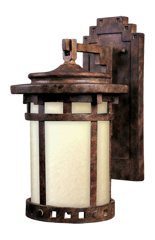"Maxim 3143 1 Light 13"" Tall Outdoor Wall Sconce from the Santa Barbara"
