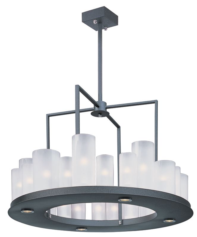 Maxim 32464 Urban Nights 28 Light Single Tier Chandelier with LED