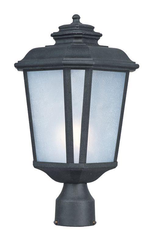 Maxim 3340 Radcliffe 1 Light Outdoor Post Light Black Oxide Outdoor