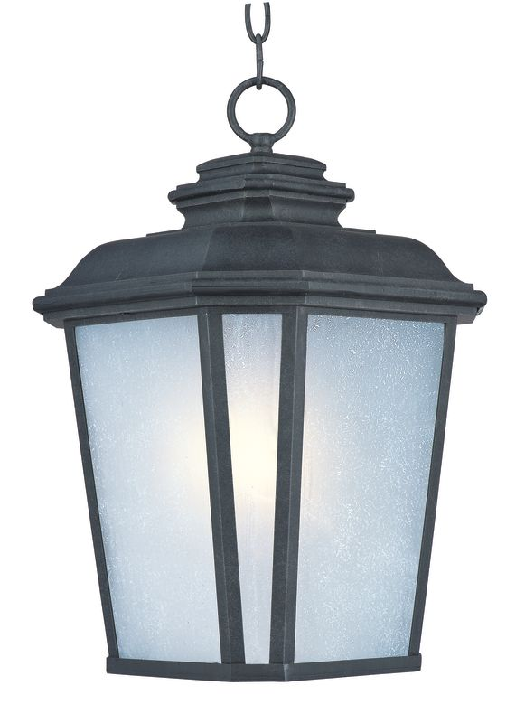 Maxim 3349 Radcliffe 1 Light Outdoor Hanging Pendant Black Oxide