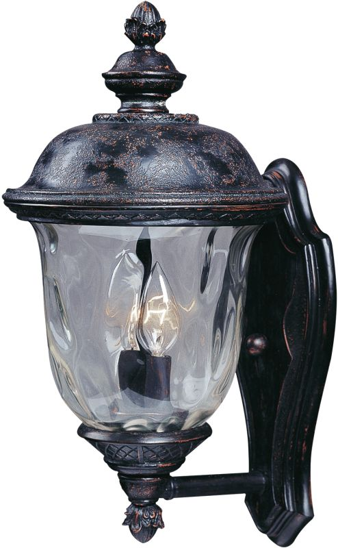 """Maxim 3422 2 Light 16"""" Tall Outdoor Wall Sconce from the Carriage"""