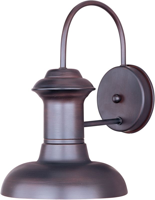"""Maxim 35003 1 Light 10.5"""" Tall Outdoor Wall Sconce from the Wharf"""