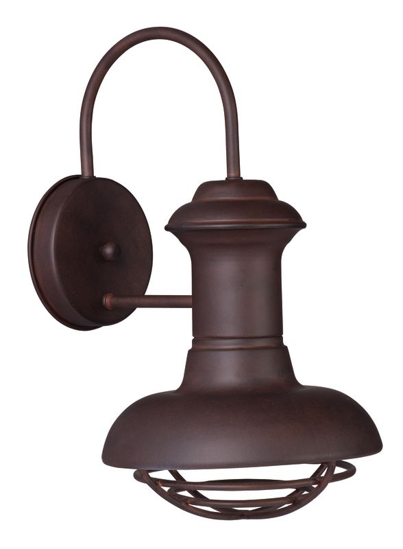 """Maxim 35011 1 Light 14"""" Tall Outdoor Wall Sconce from the Wharf"""