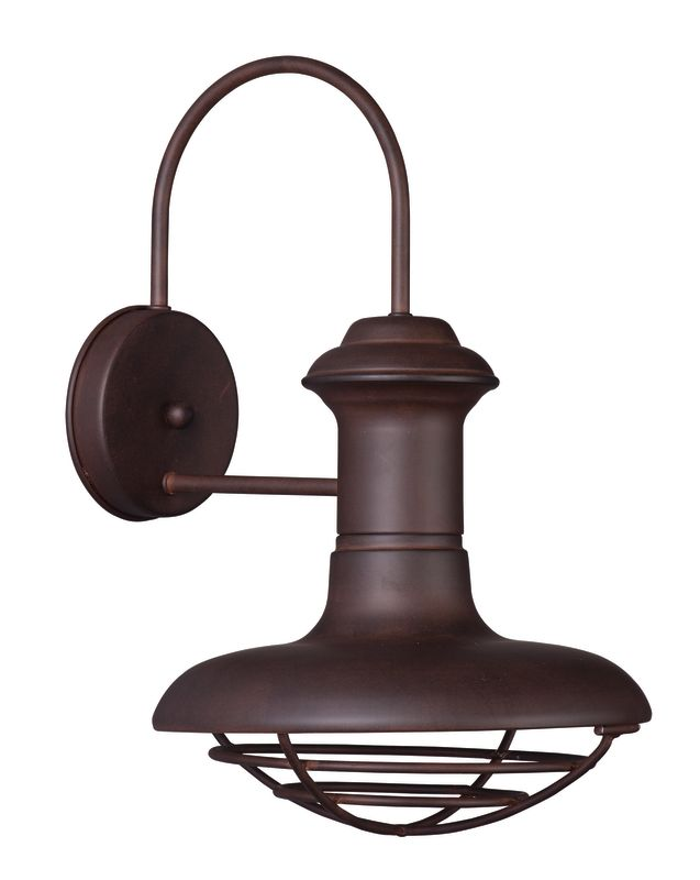 "Maxim 35012 1 Light 15.25"" Tall Outdoor Wall Sconce from the Wharf"