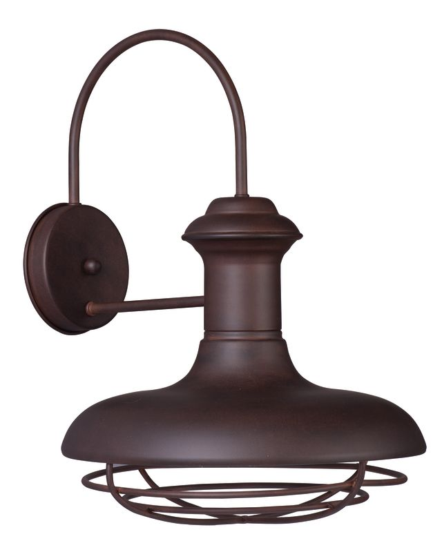 """Maxim 35013 1 Light 16.75"""" Tall Outdoor Wall Sconce from the Wharf"""