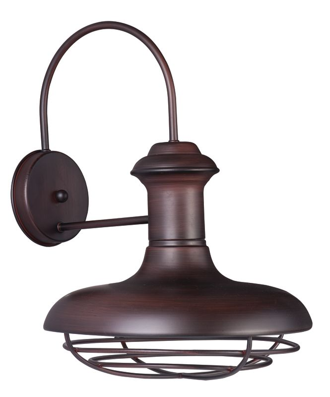"Maxim 35013 1 Light 16.75"" Tall Outdoor Wall Sconce from the Wharf"