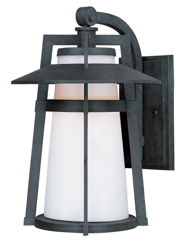 Maxim 3534 1 Light 12.5&quote Tall Outdoor Wall Sconce from the Calistoga