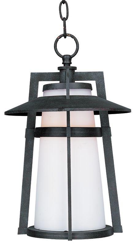 Maxim 3539 Calistoga 1 Light Outdoor Pendant Adobe Outdoor Lighting
