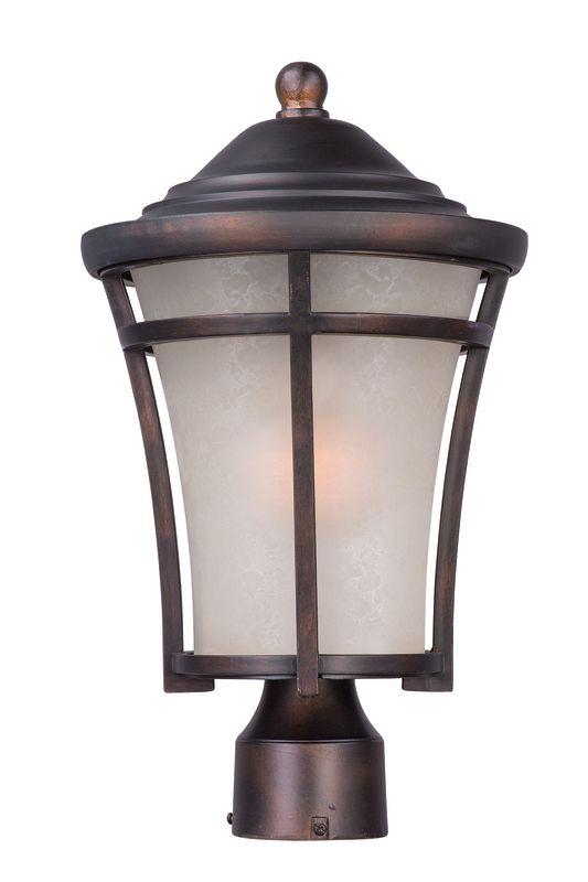 Maxim 3800 Balboa DC 1 Light Outdoor Post Light Copper Oxide Outdoor