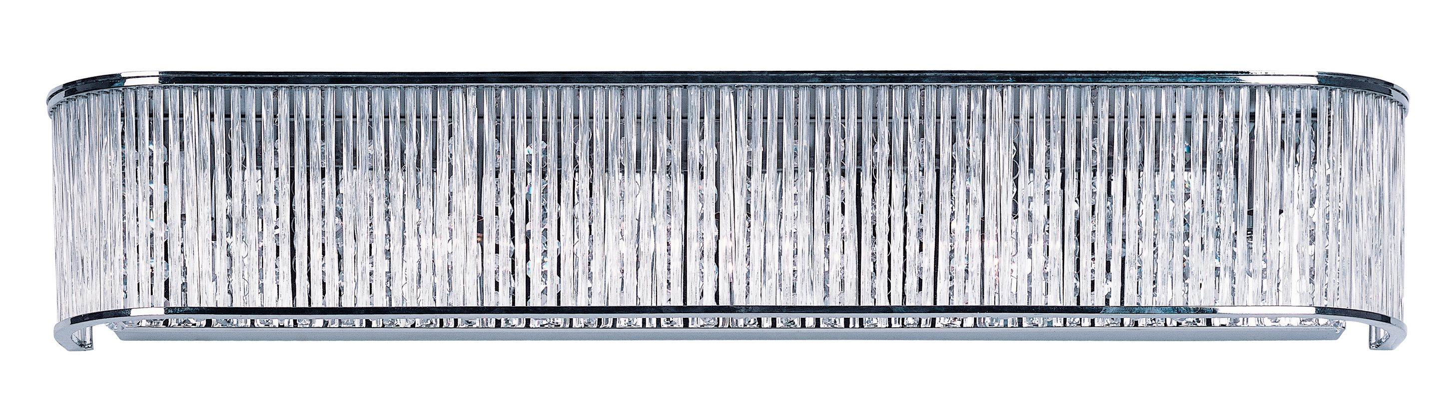 """Maxim 39713 5 Light 30"""" Wide Bathroom Fixture from the Swizzle"""