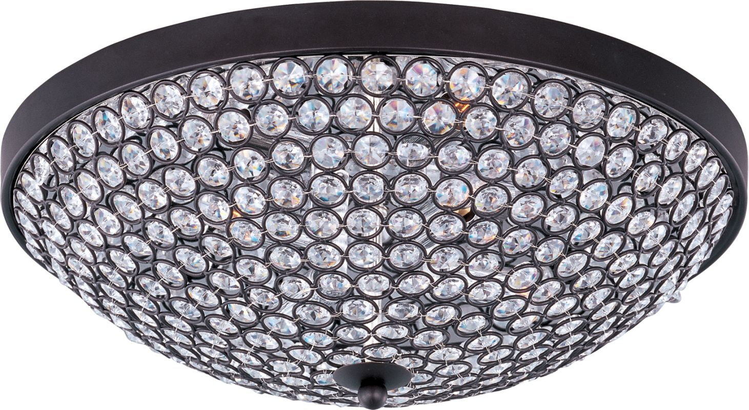 "Maxim 39871 4 Light 15"" Wide Flush Mount Ceiling Fixture from the"