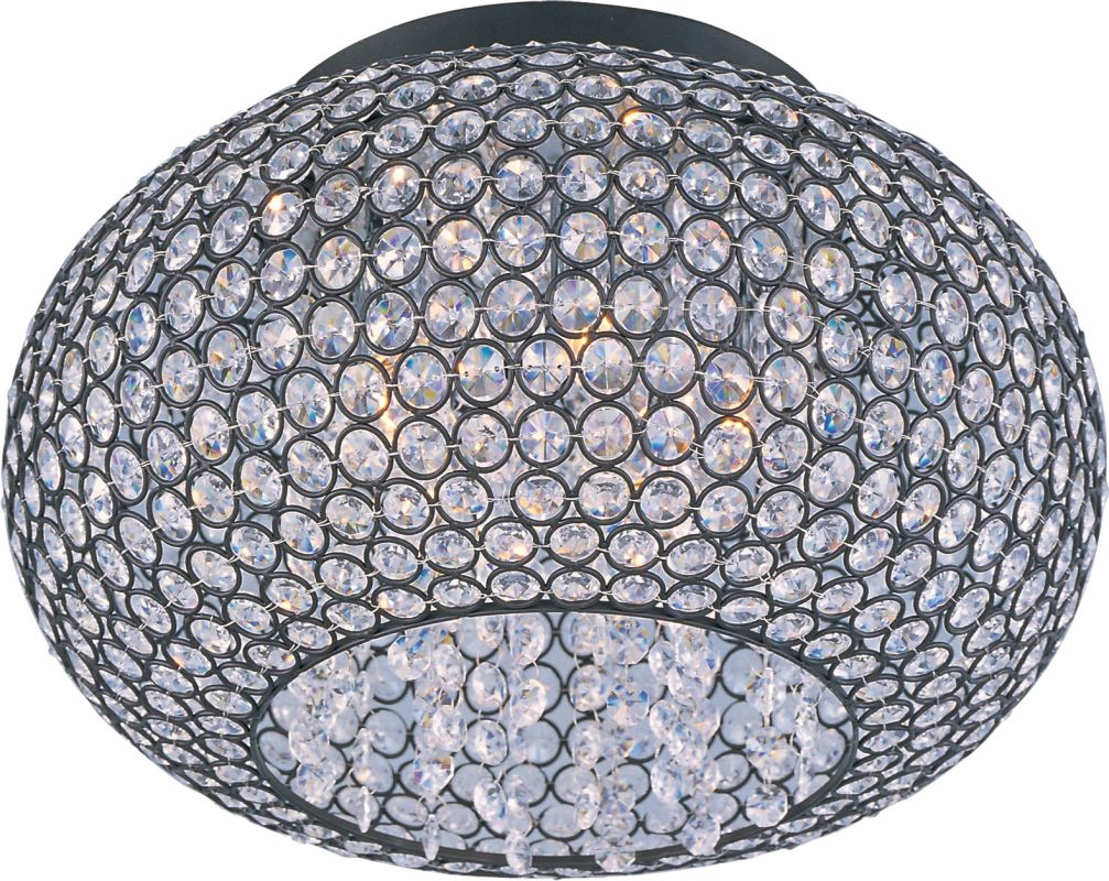 """Maxim 39875 5 Light 15"""" Wide Flush Mount Ceiling Fixture from the"""