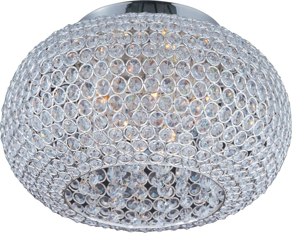 "Maxim 39875 5 Light 15"" Wide Flush Mount Ceiling Fixture from the"