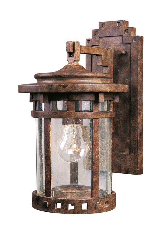 """Maxim 40033 1 Light 13"""" Tall Outdoor Wall Sconce from the Santa"""