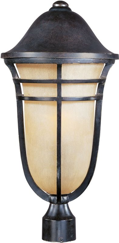 Maxim 40100MC Westport VX 1 Light Outdoor Post Light Artesian Bronze